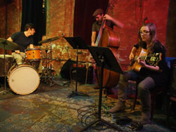 Mary Halvorson Trio by Peter Gannushkin